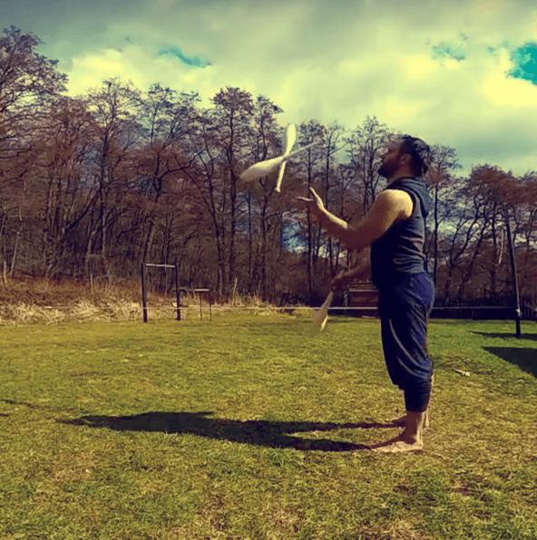Žonglovanie s kuželkami